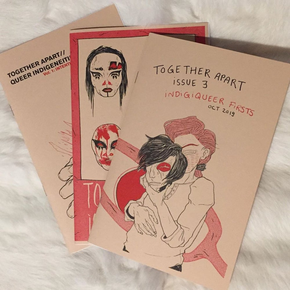 Image of Together Apart Zine Bundle, Issues 1-3