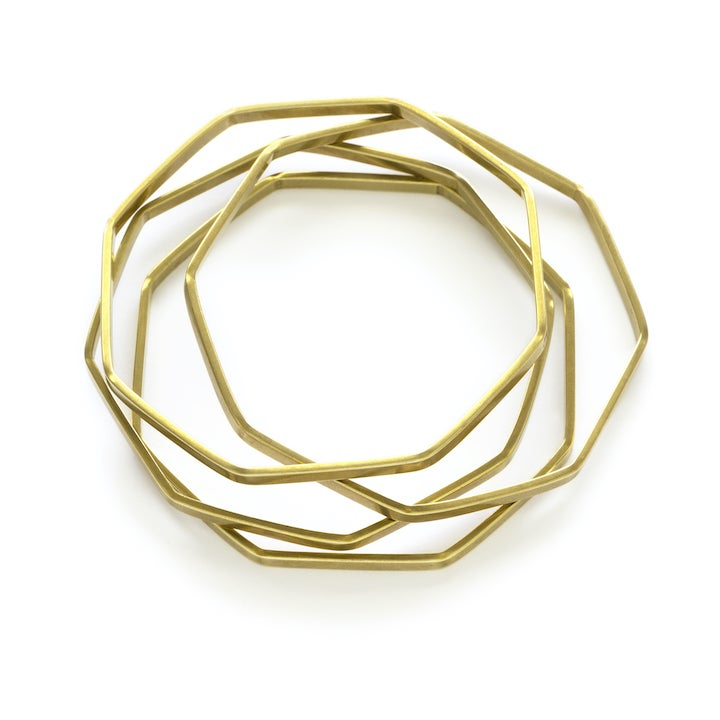Image of Amano Octagon Bangle Set