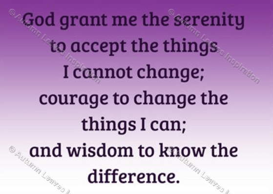 Image of R1 The Serenity Prayer