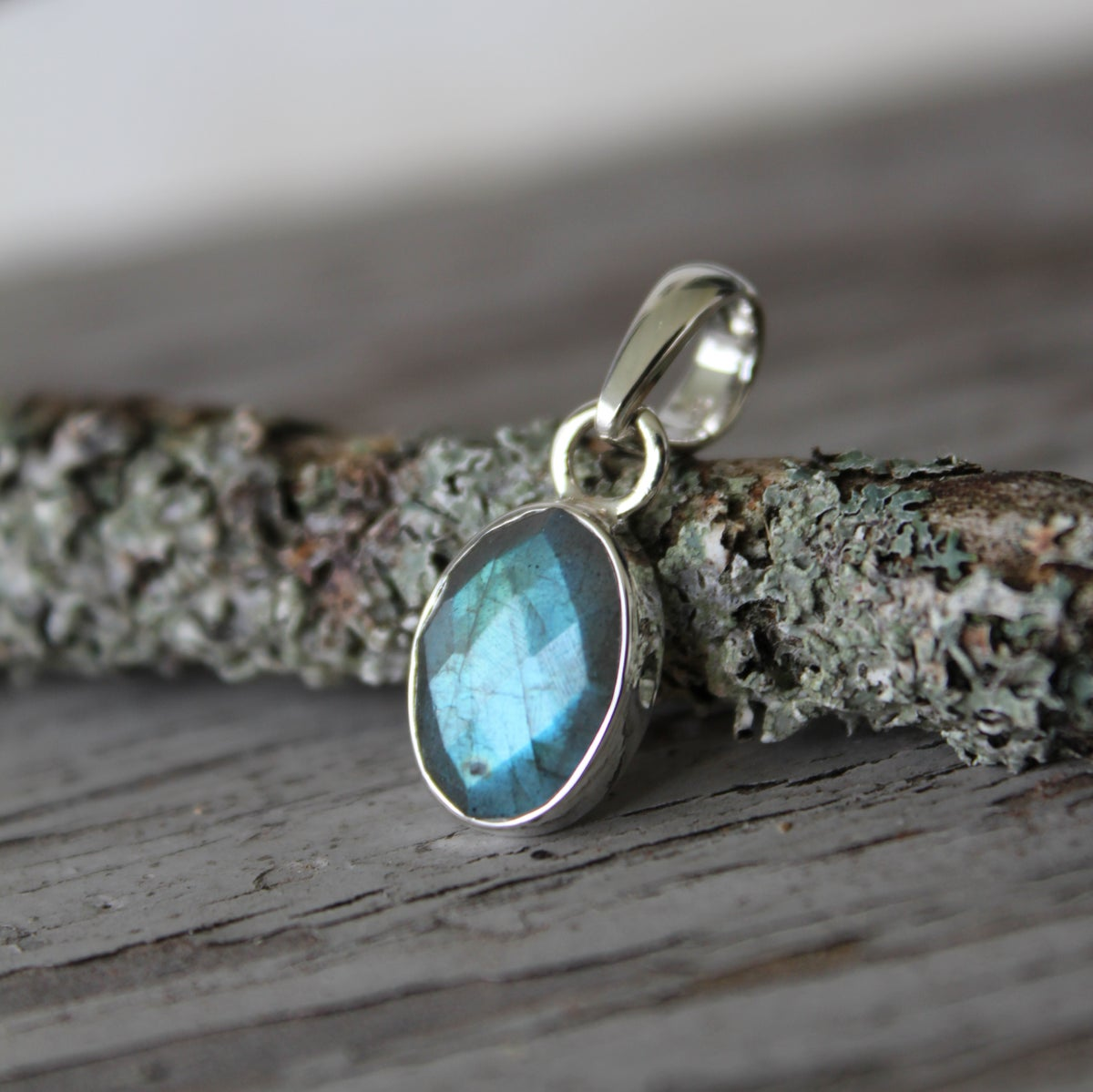Image of Hush Collection - Labradorite in Sterling