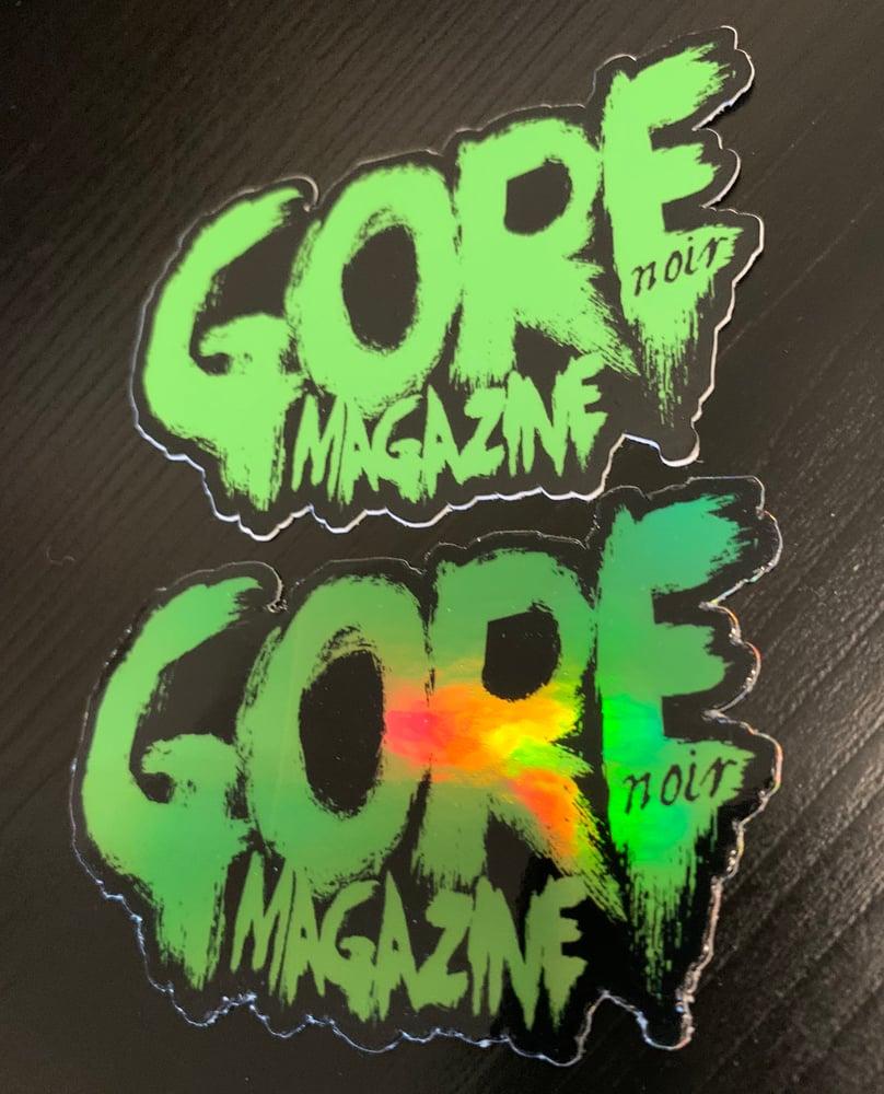 Image of Holo Gore Logo + Reg Gore Logo + Sticker pack!