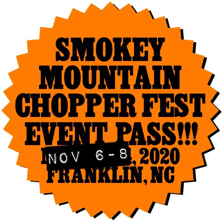 Image of SMOKEY MOUNTAIN CHOPPER FEST PASS