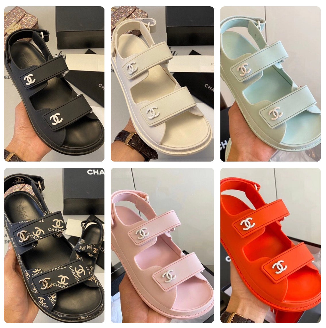Image of CCs Velcro Sandals