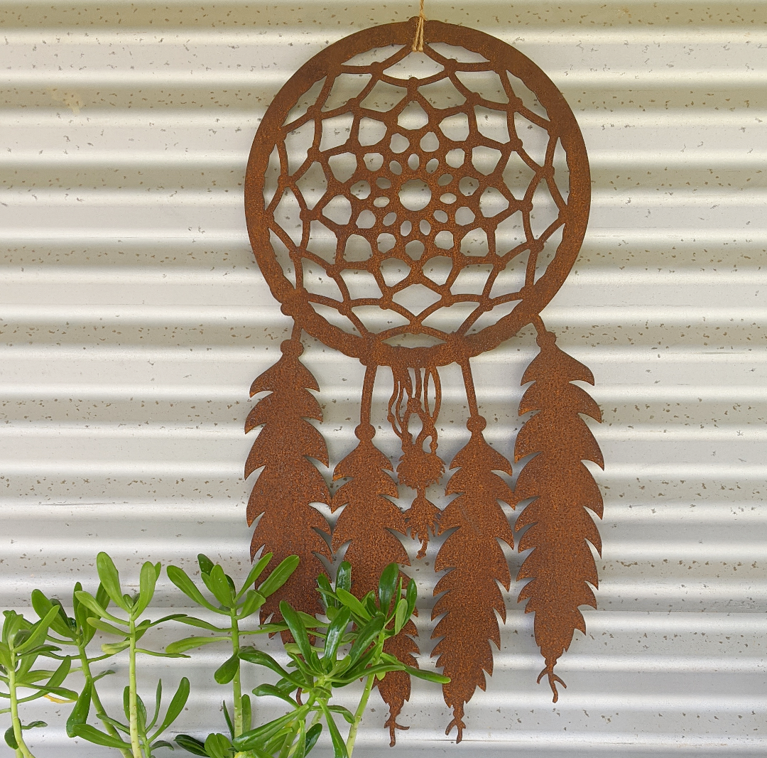Rusty dreamcatcher