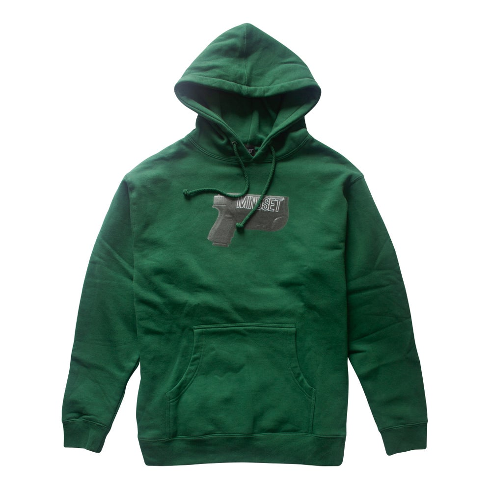 Image of Holster Hoodie (Dark Green)