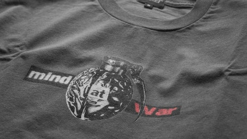 Image of Mind At War Tee (Charcoal, 1 of 1)