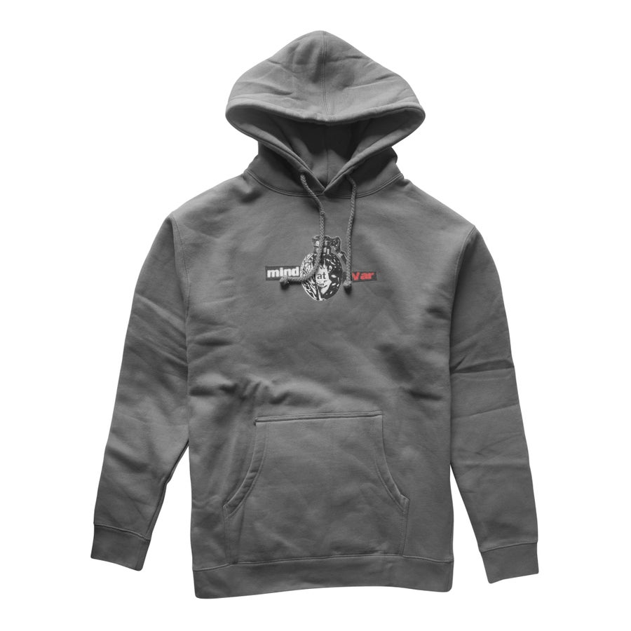 Image of Mind At War Hoodie (Charcoal)