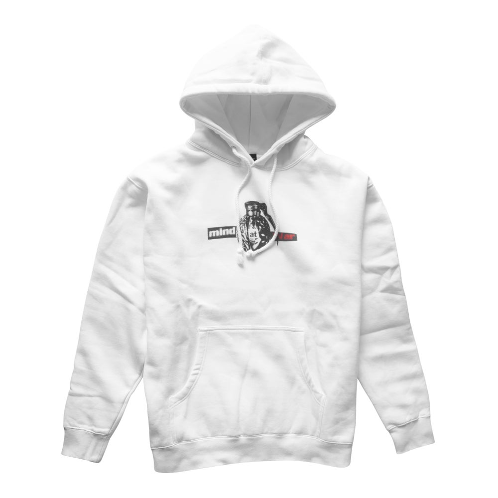 Image of Mind At War Hoodie (White)