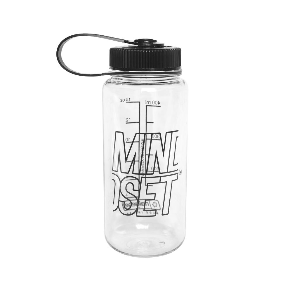 Image of Stacked Logo Water Bottle