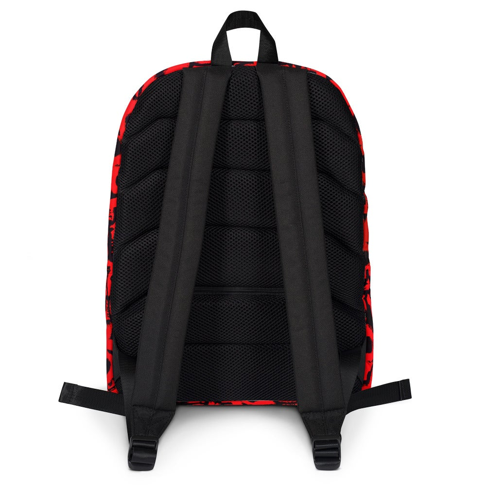 Image of Red Gore Logo Backpack