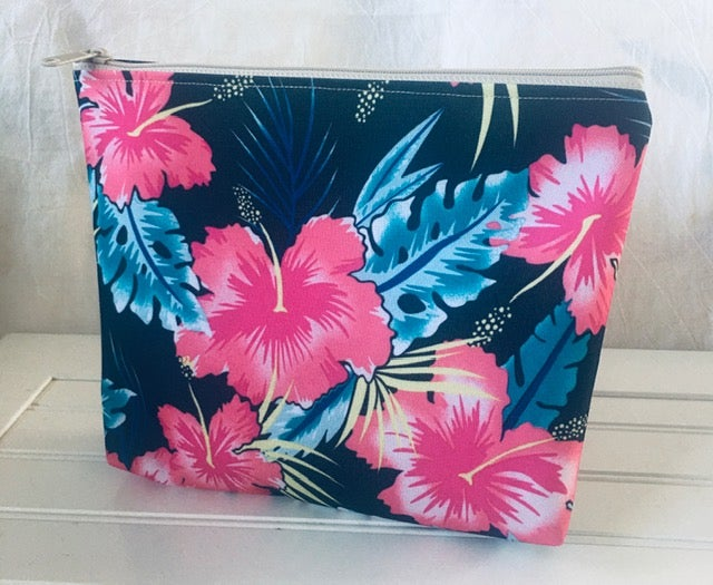 On Sale! 30% Off! Regular $24.00 Hibiscus Waterproof Bag
