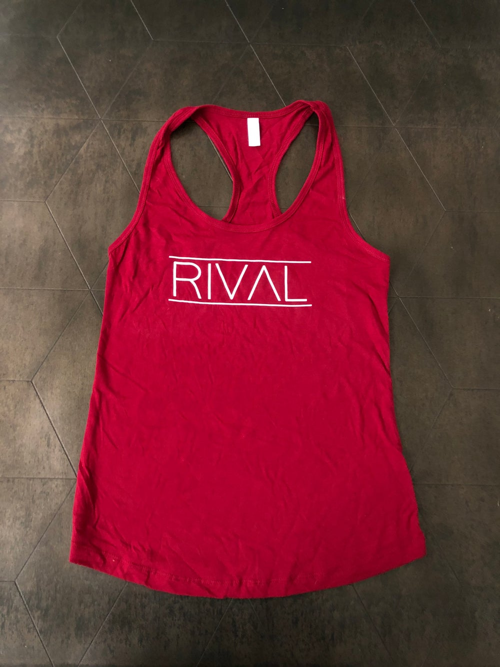 RIVAL Old Logo Racerback - Red