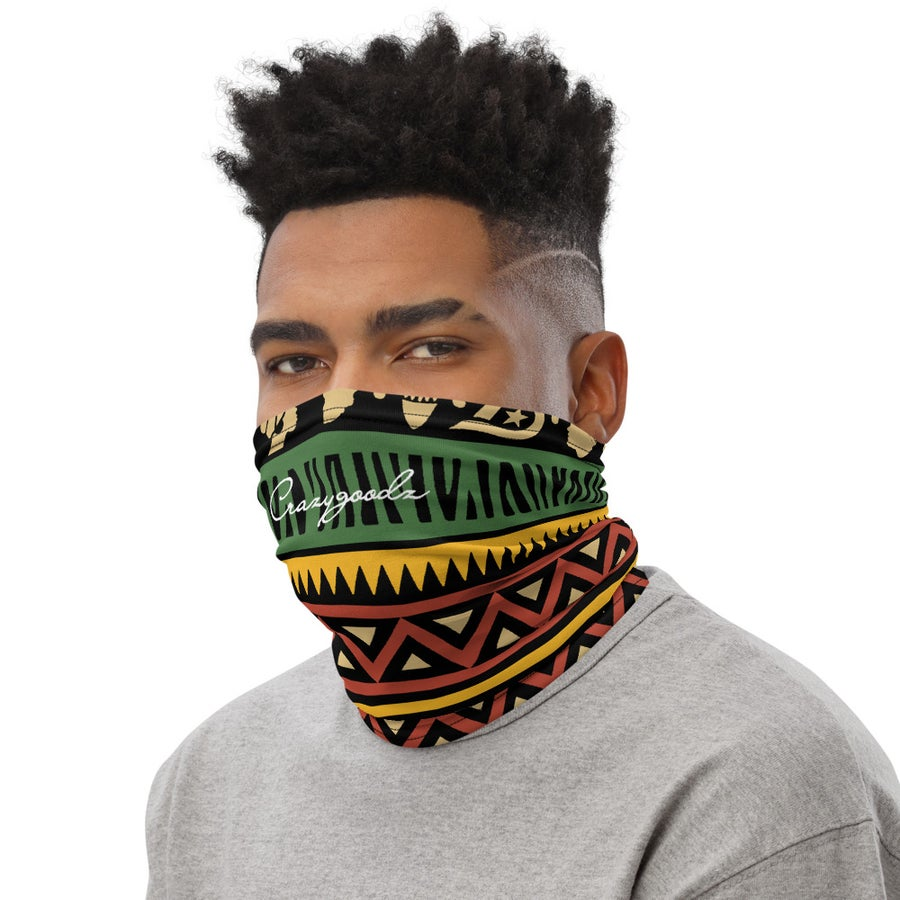 Image of The Culture Multi Color Unisex Neck Gaiter