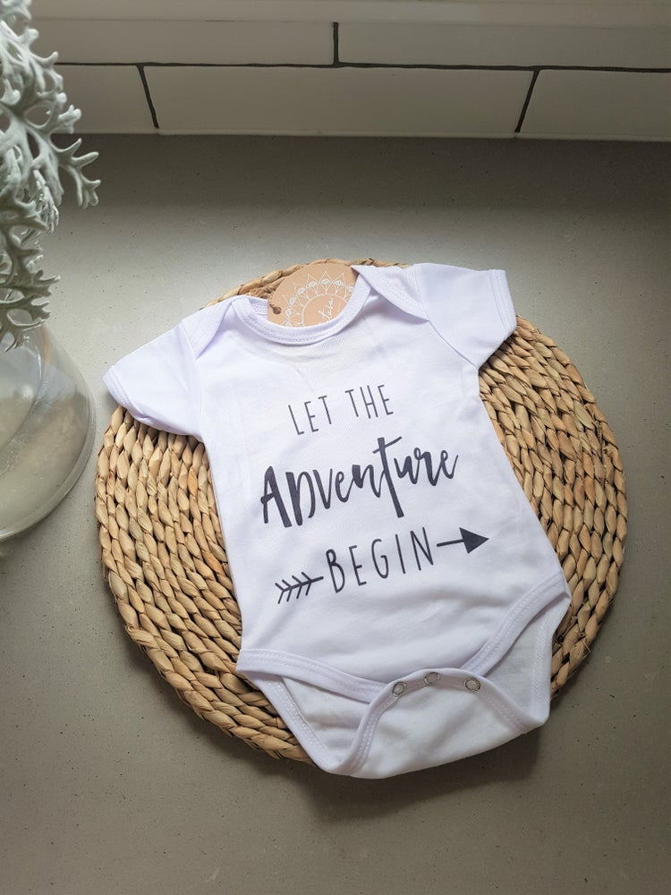 Image of Let the Adventure Begin Onesie