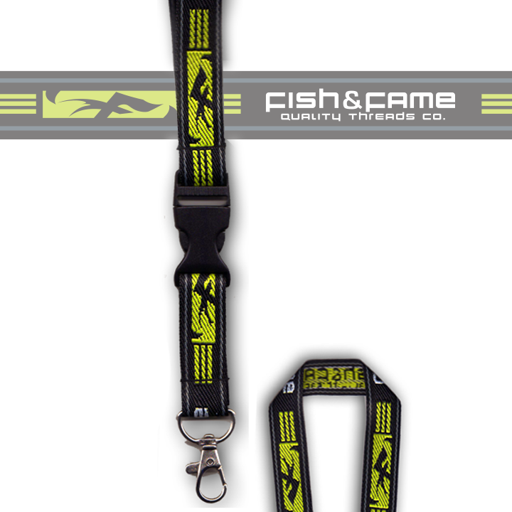Image of Quality Threads Lanyard w/Quick Clip