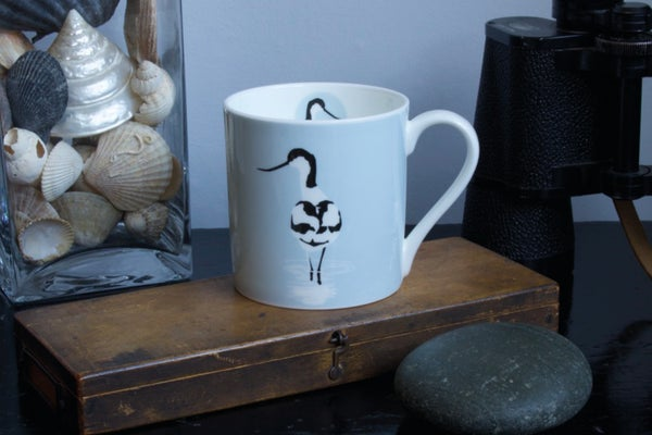 Image of Avocet English Fine Bone China Mug