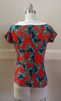 Frenchie Fries Top - Red