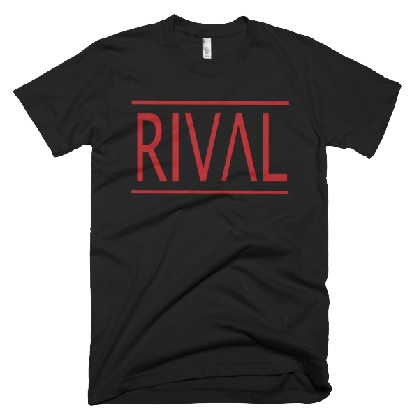 RIVAL Tee - B/Red