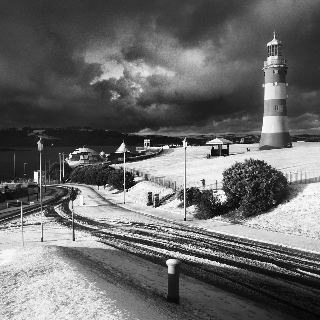 Image of Plymouth Hoe in Winter