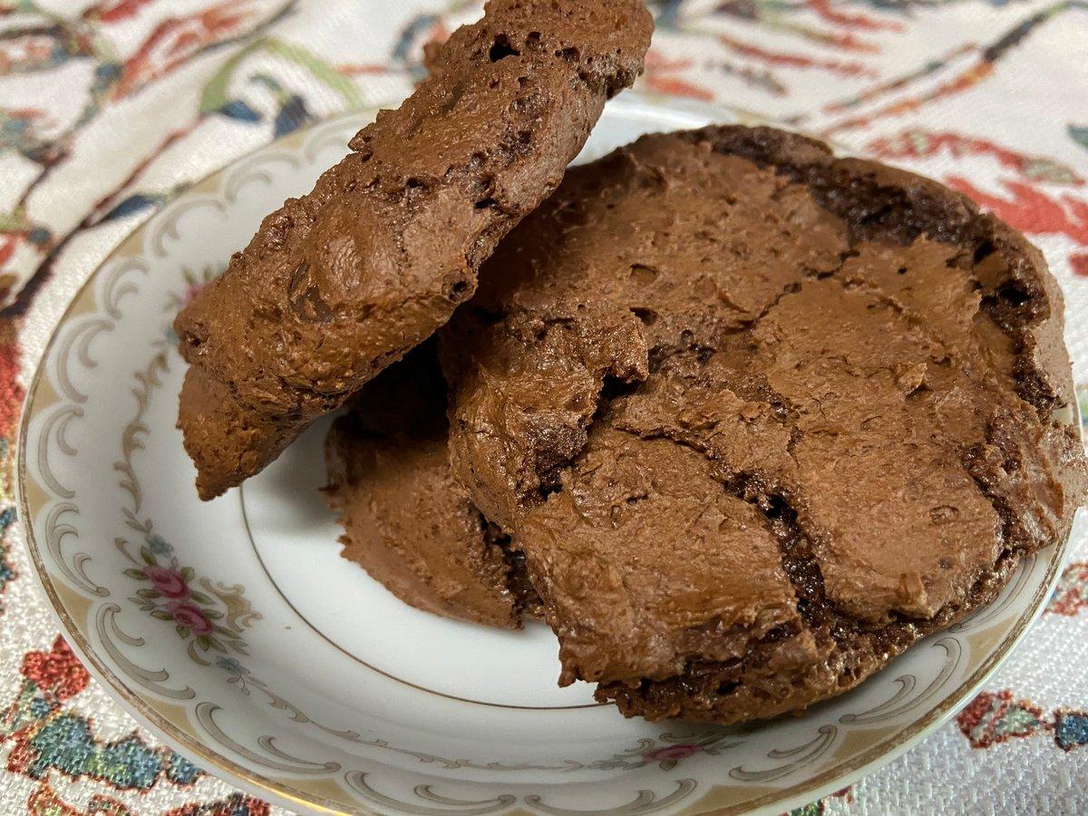 Image of Dark Chocolate Brownie Cookies