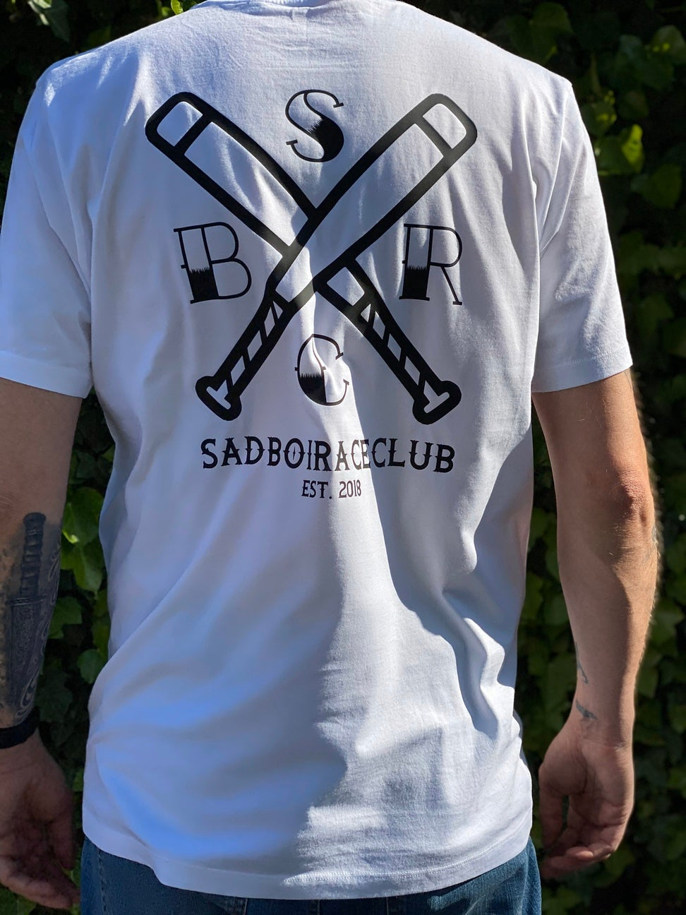 "Image of SadBoiRaceClub ""BATtle"" Tee"