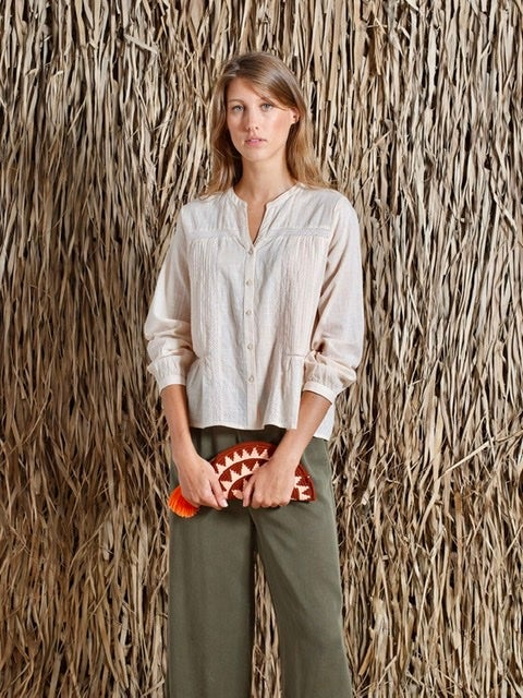 Image of Blouse Passiflore