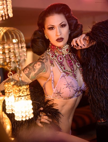 Image of QUEEN OF BURLESQUE 2 | 8X12 SIGNED PHOTO PRINT