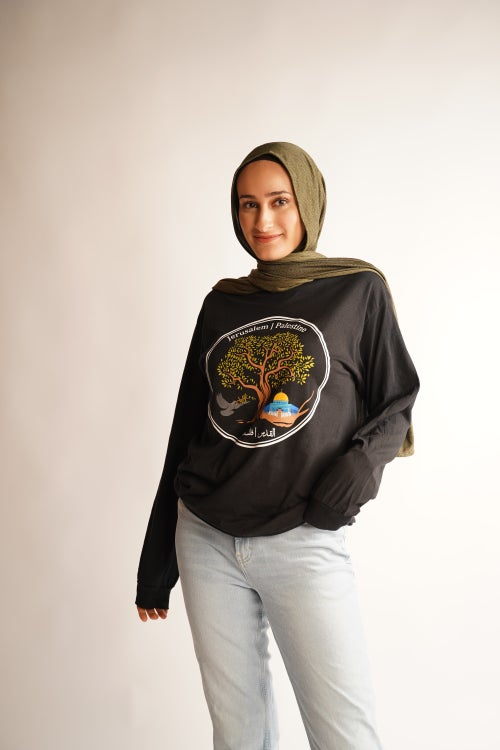 "Image of ""Jerusalem Olive Tree"" long sleeve"