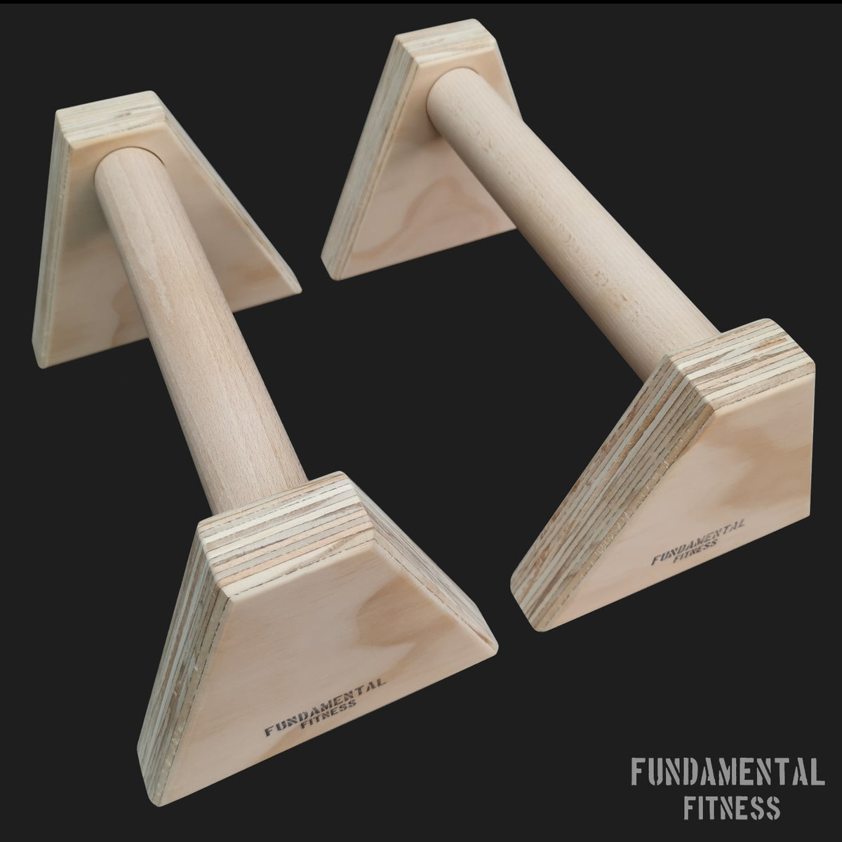 Image of Fundamental Fitness Low Parallettes