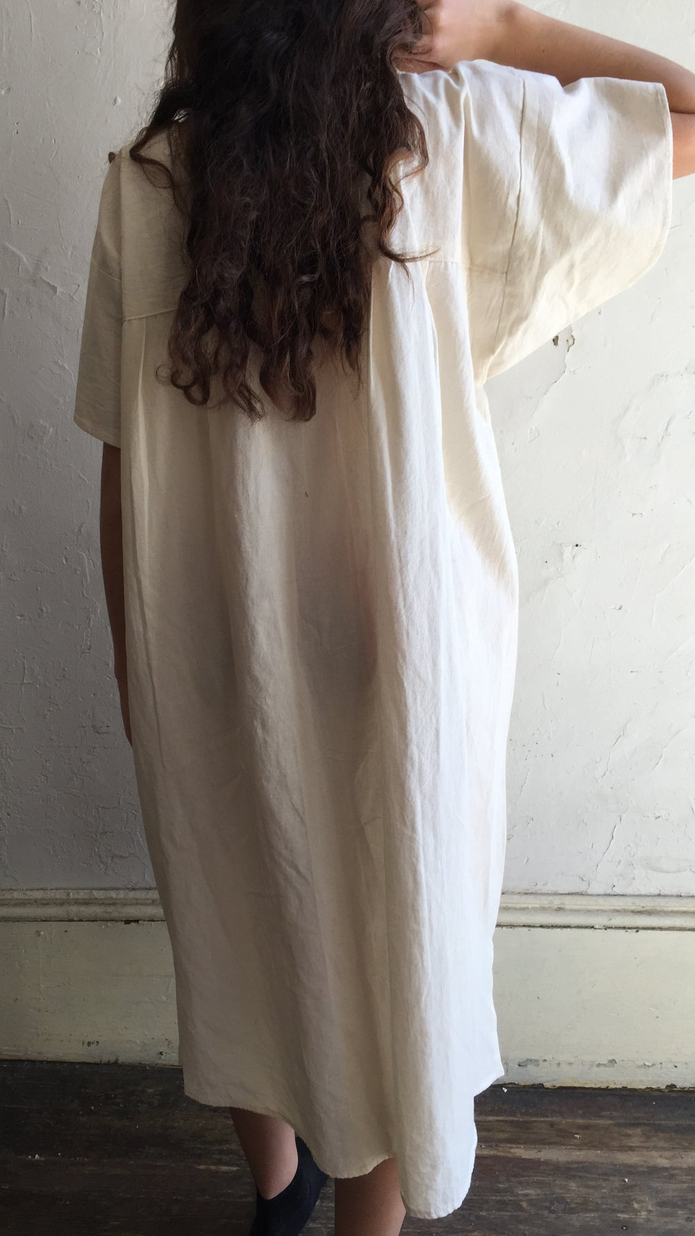 Image of Cotton Mexican Dress