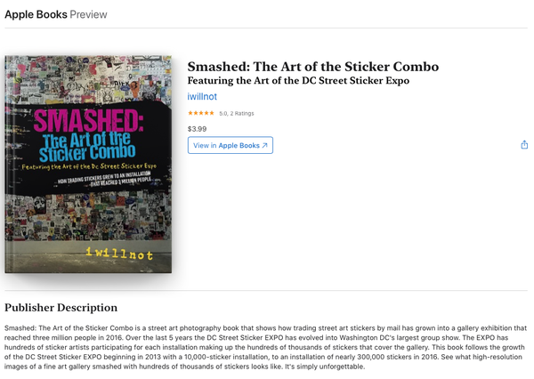 "Image of EBook ""Smashed: The Art of the Sticker Combo"""
