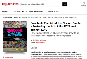 """Image of EBook """"Smashed: The Art of the Sticker Combo"""""""