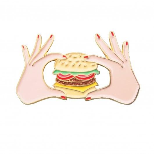 Image of Burger pin