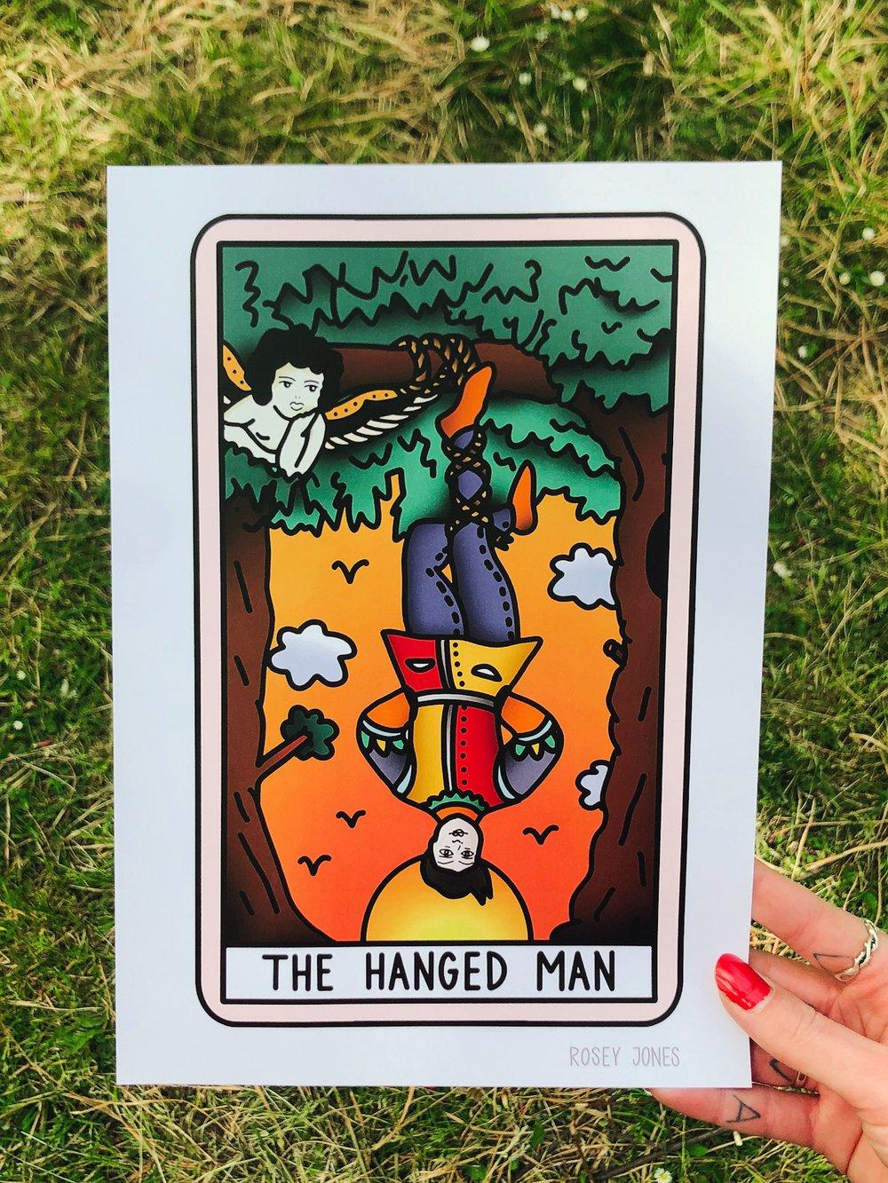 Image of Print Tarot (hanged man)