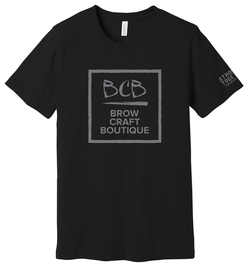 """Brow Craft Boutique """"Stronger Together"""" Tee"""