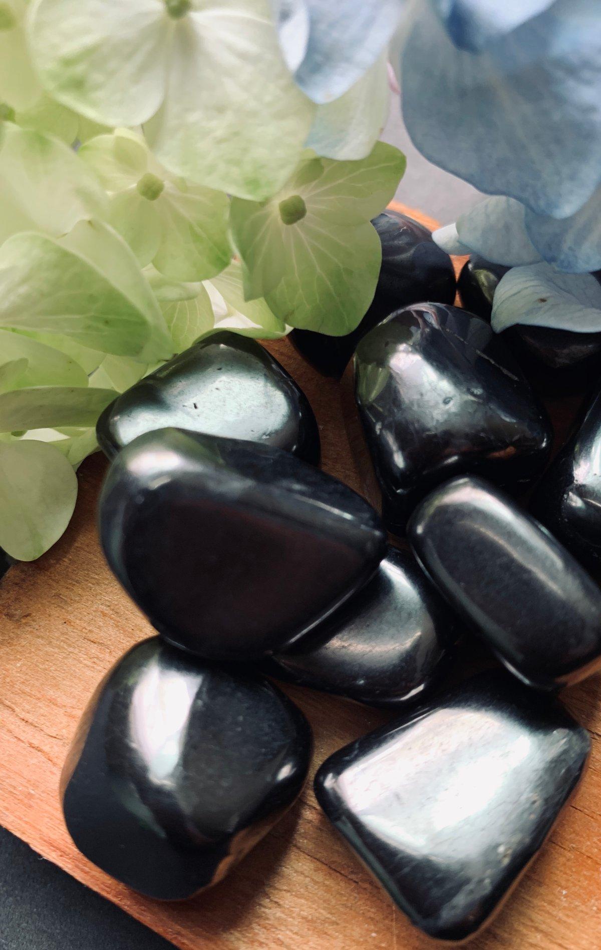Shungite Stone (Tumbled)