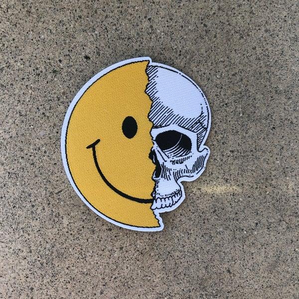 Image of Rubbish Rubbish 97a Smile Skull Patch