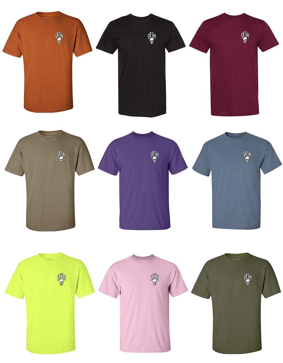 Image of Seshskull short sleeve shirt