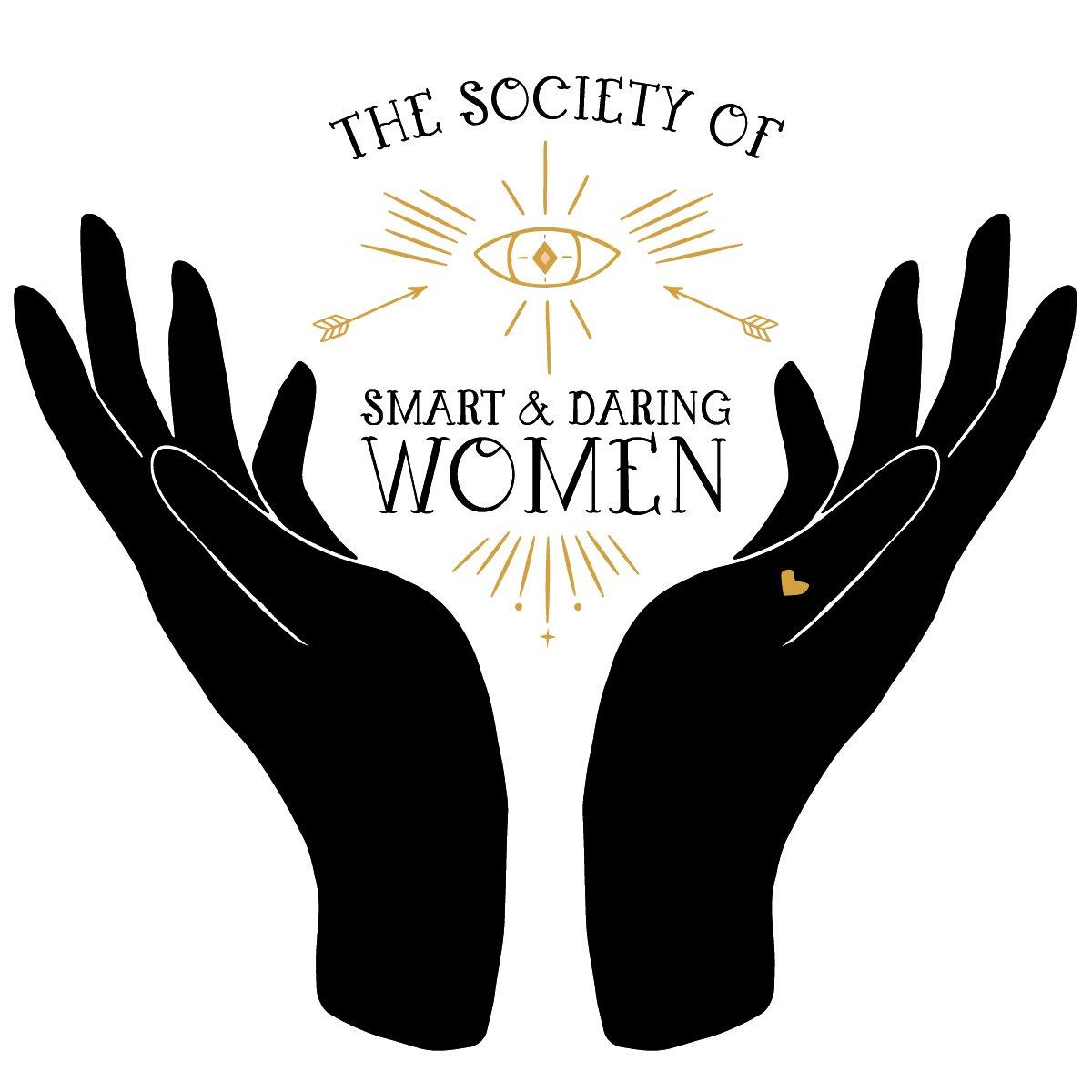 Smart and Daring Women Sticker