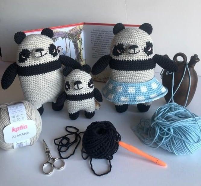 Família de Pandas