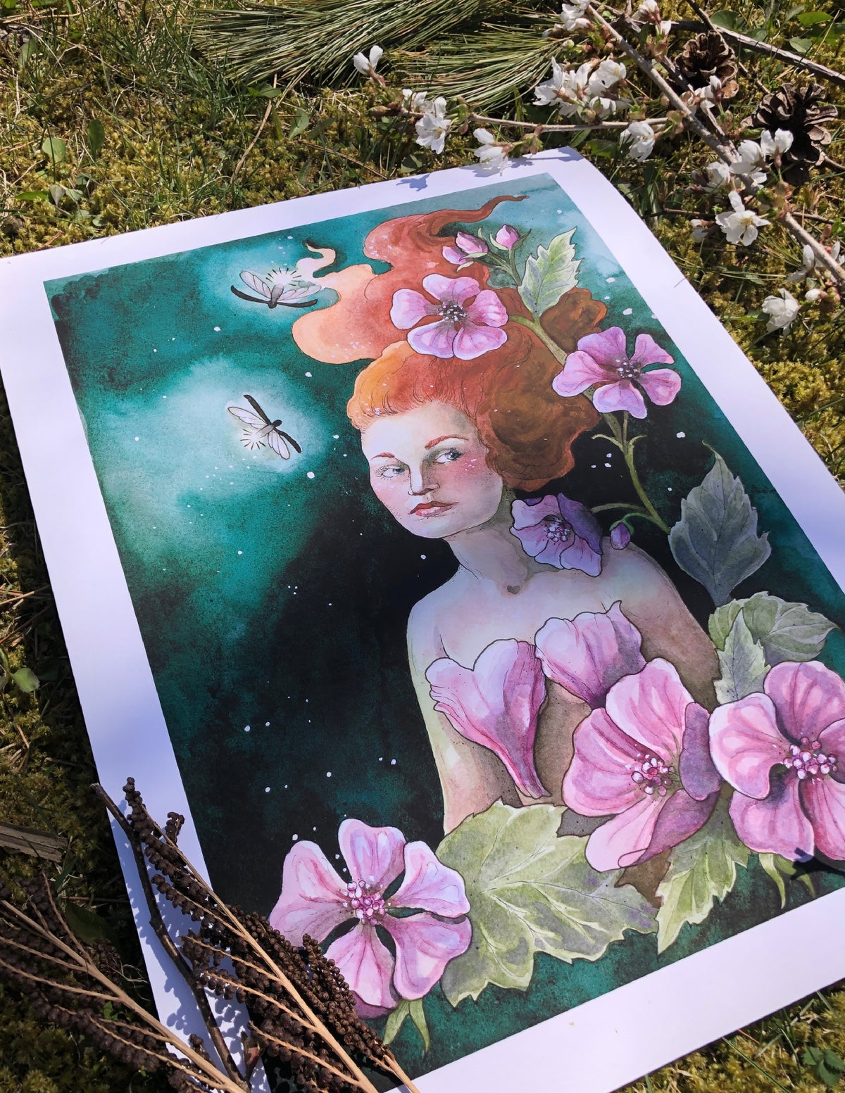 "Marshmallow | 12 X 16"" Print"