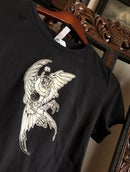 "Image 2 of ""Flockling"" Hand-printed T-shirt"