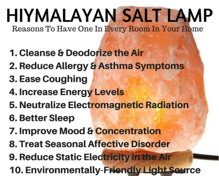 Image of Large Himalayan Salt Lamp