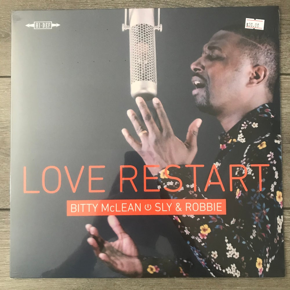 Image of Bitty McLean with Sly & Robbie - Love Restart Vinyl LP