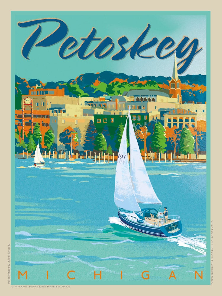 Image of Petoskey Special Edition Print No. [096}