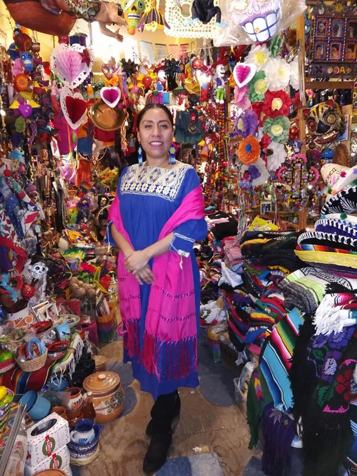 Image of Shawl-rebozo de Oaxaca