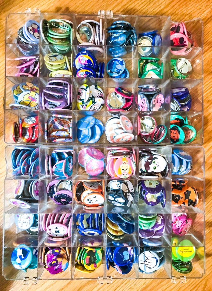 Image of 1.5 Inch Buttons - Assorted Themes / Fandoms