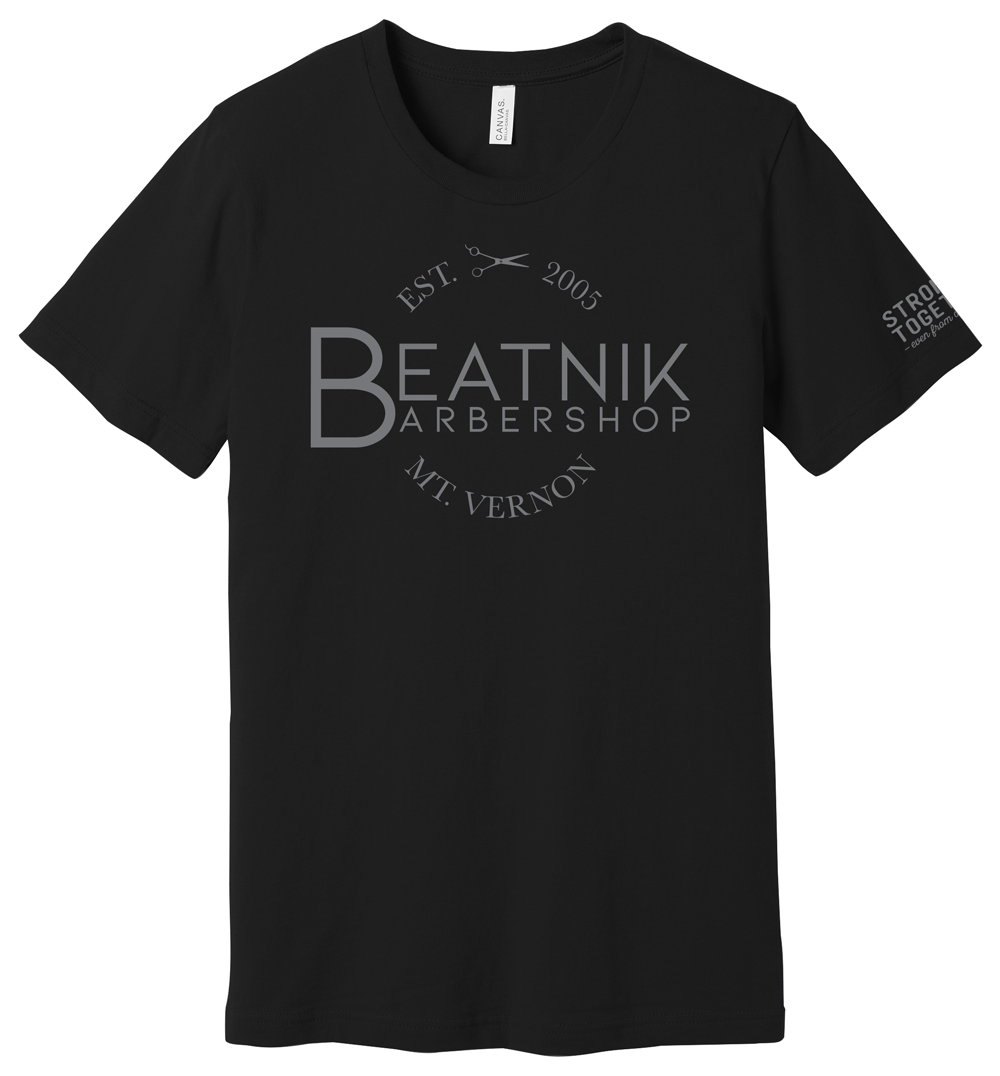 """Beatnik Barbershop """"Stronger Together"""" Tee"""