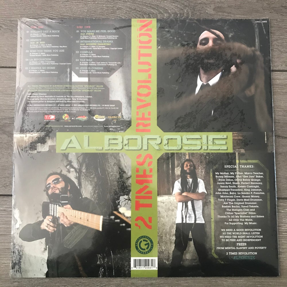 Image of Alborosie - 2 Times Revolution