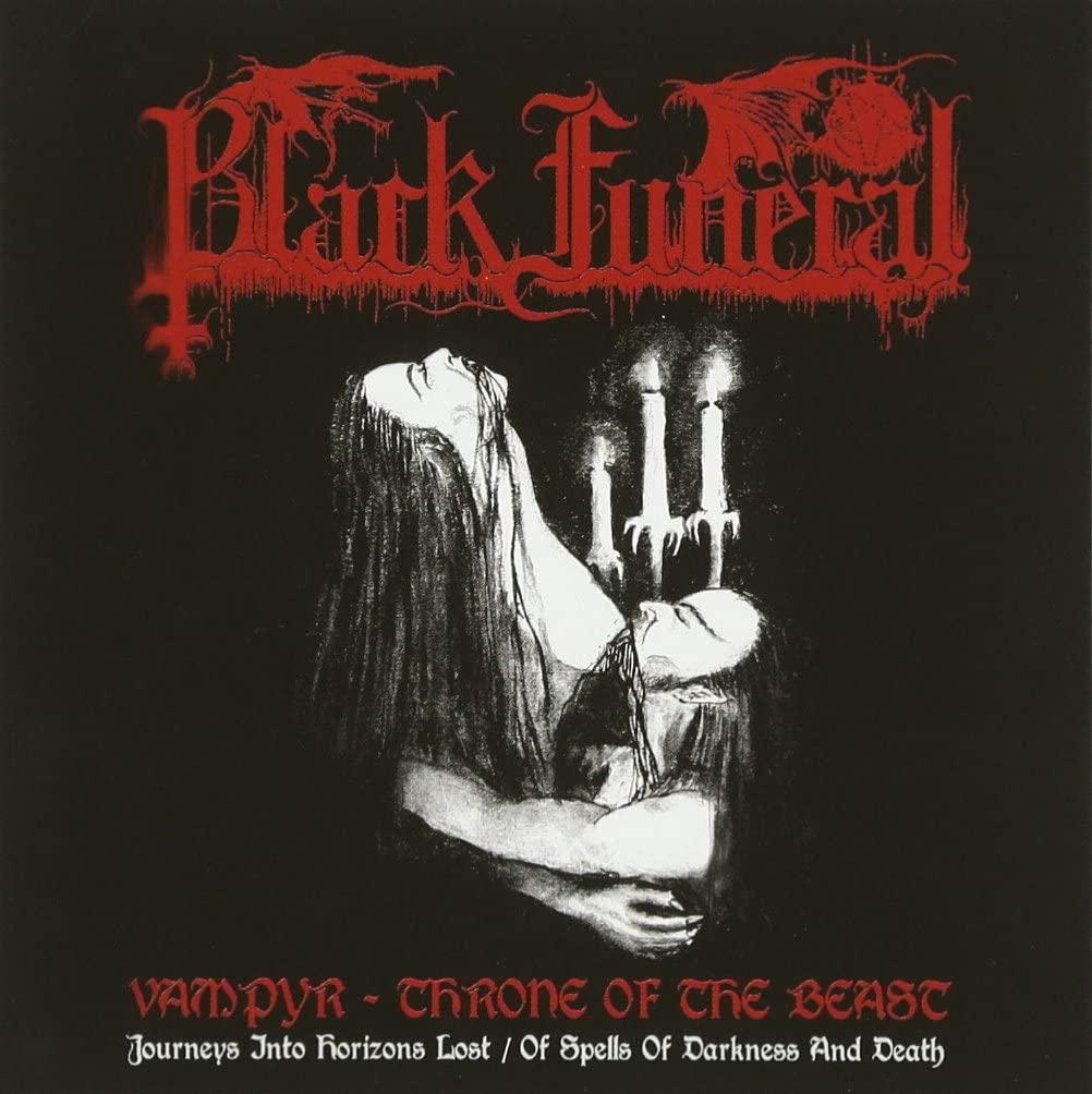 BLACK FUNERAL -Vampyr - Throne Of The Beast- CD